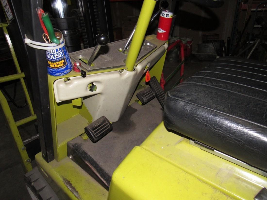 Clark C50055 LPG Forklift Fork Truck - 4