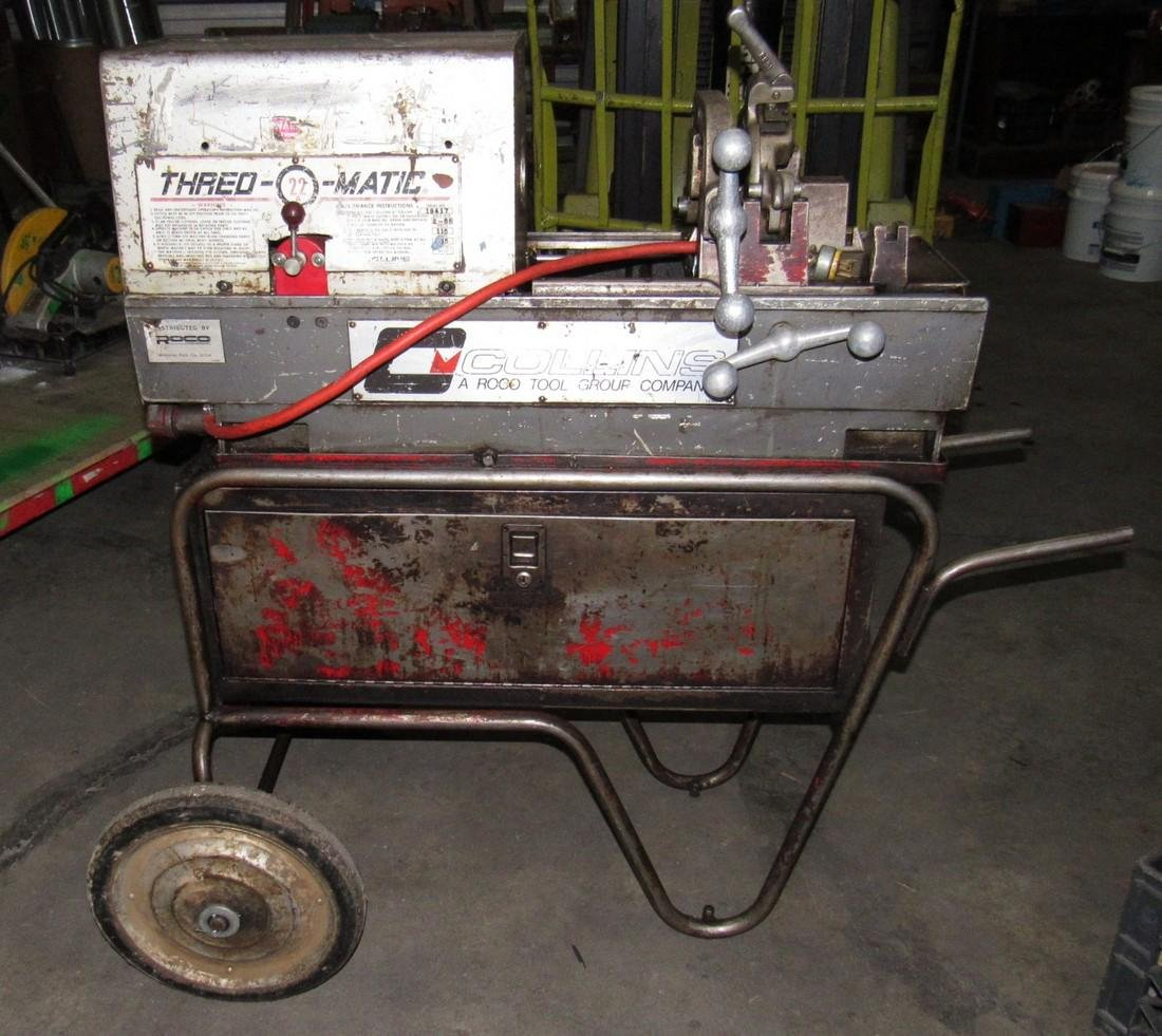 Collins Thred-O-Matic 22a Pipe Threader