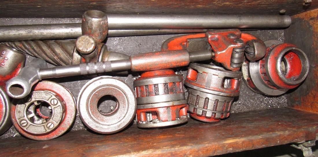 Rigid Pipe Dies Threader Reamer Pipe Cutter - 2