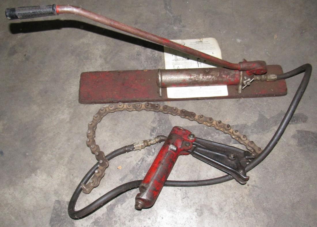 Wheeler Jr. Hydraulic Pipe Cutter Model 1790
