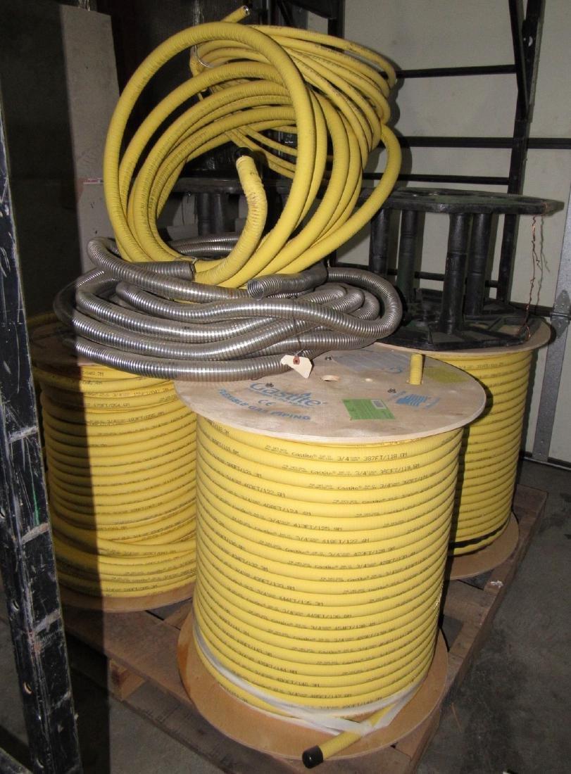 "4 Spools 3/4"" Gastite Flexible Gas Piping S93-1184"