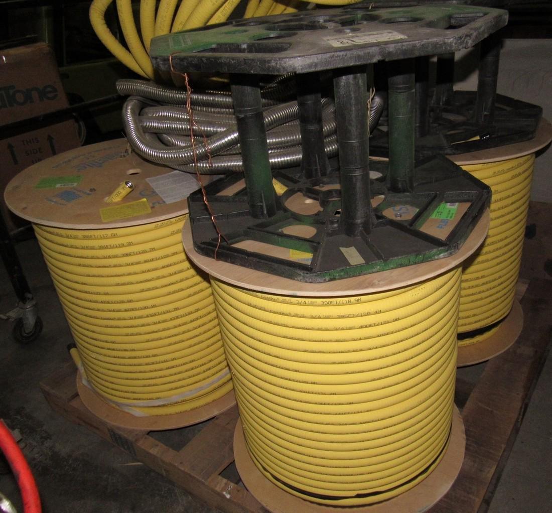 "4 Spools 3/4"" Gastite Flexible Gas Piping S93-1184 - 3"