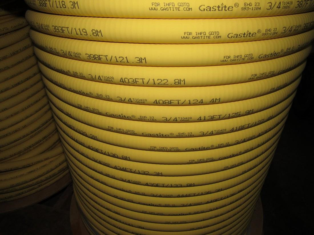 "4 Spools 3/4"" Gastite Flexible Gas Piping S93-1184 - 4"