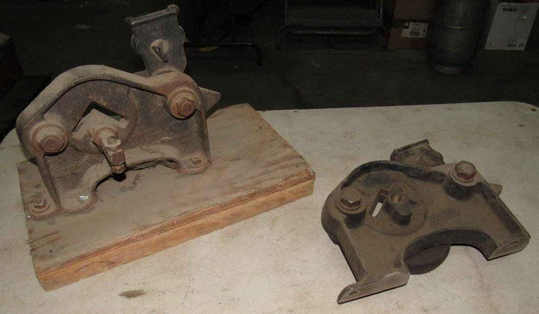 2 Angle Iron Cutters