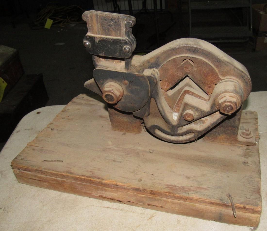 2 Angle Iron Cutters - 4