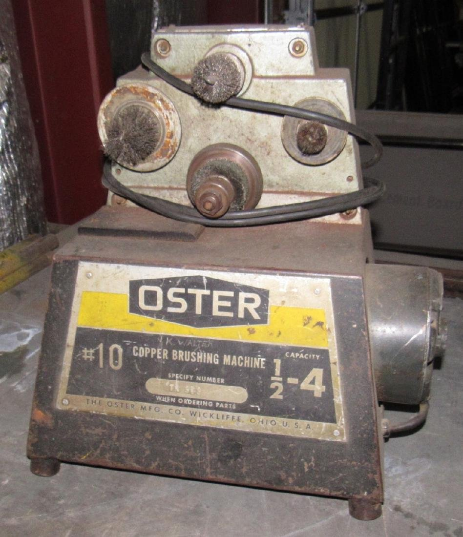 Oster No. 10 Copper Brushing Machine - 3