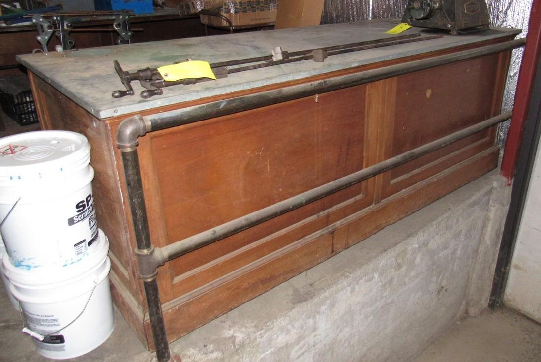 2 Antique Store Counters
