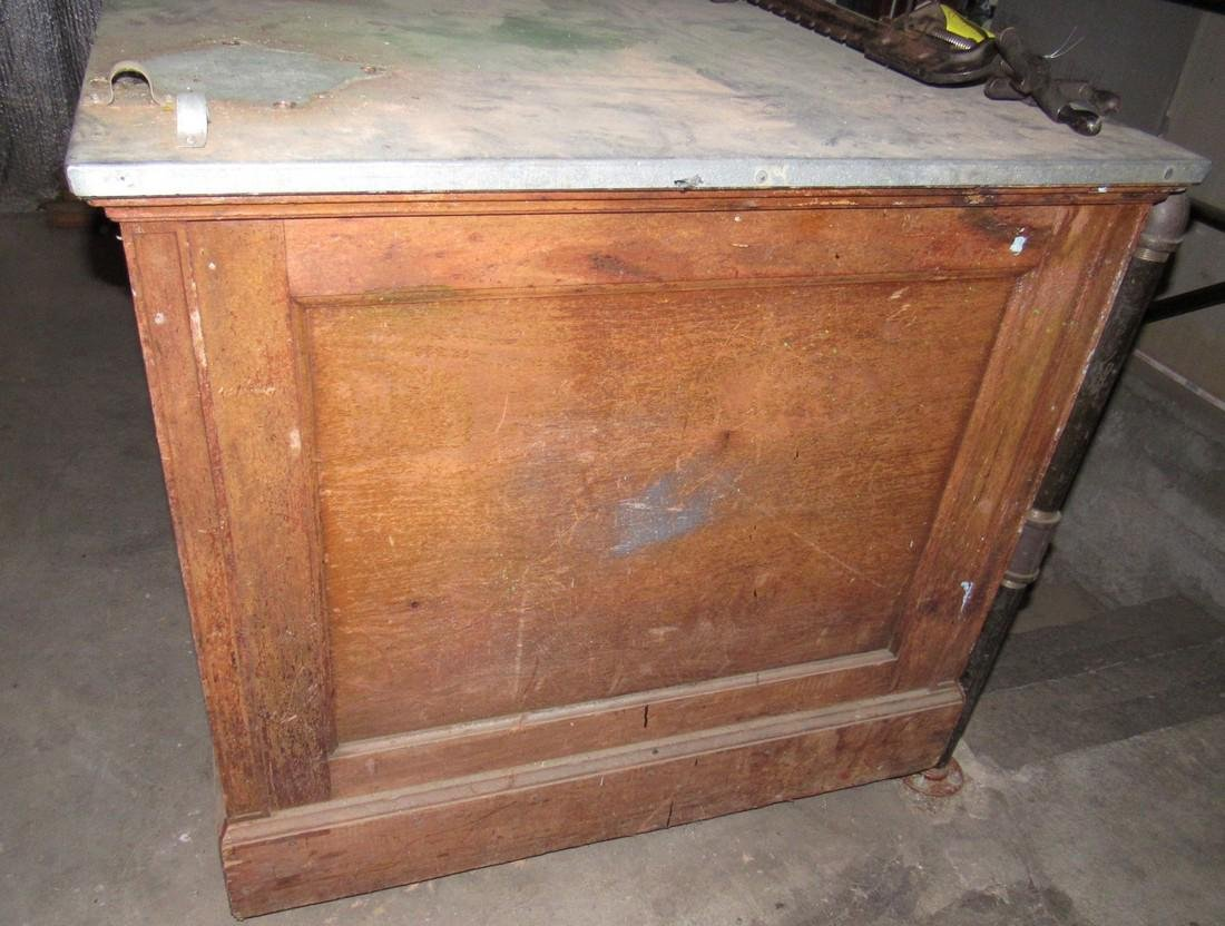 2 Antique Store Counters - 2