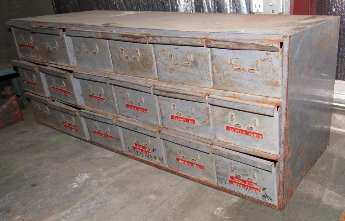 18 Drawer Parts Cabinet - 2