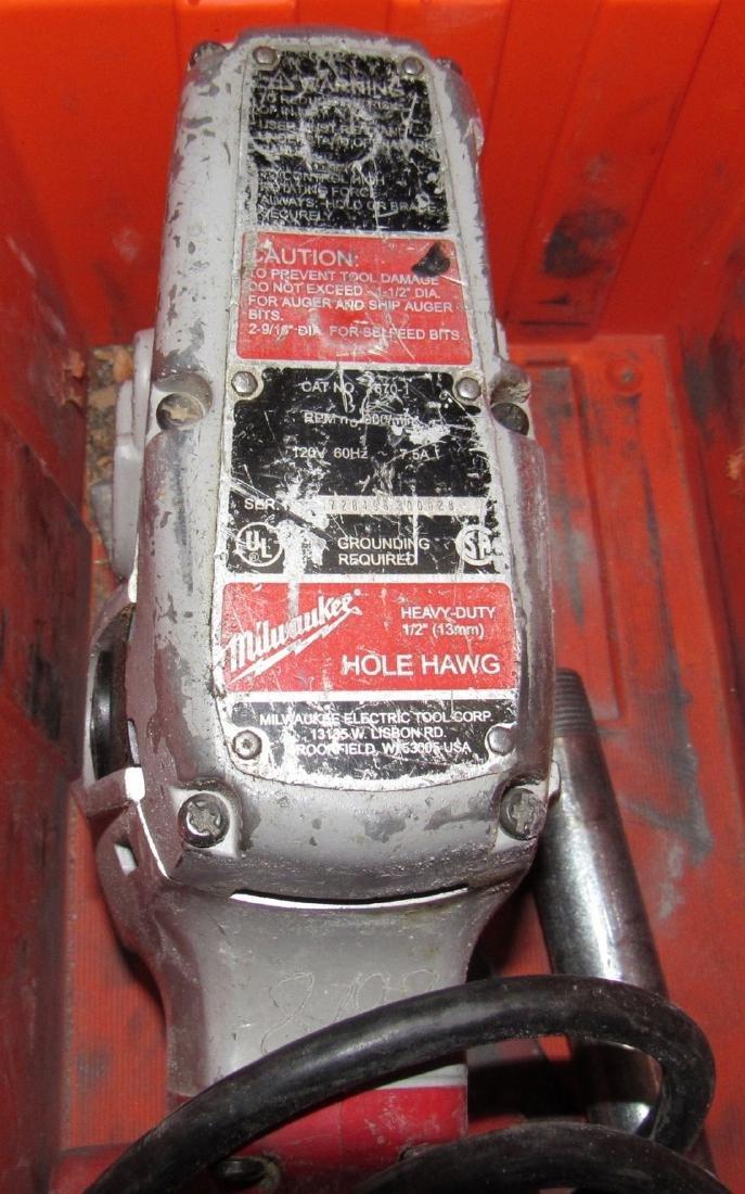 Milwaukee Hole Hawg Right Angle Drill - 2