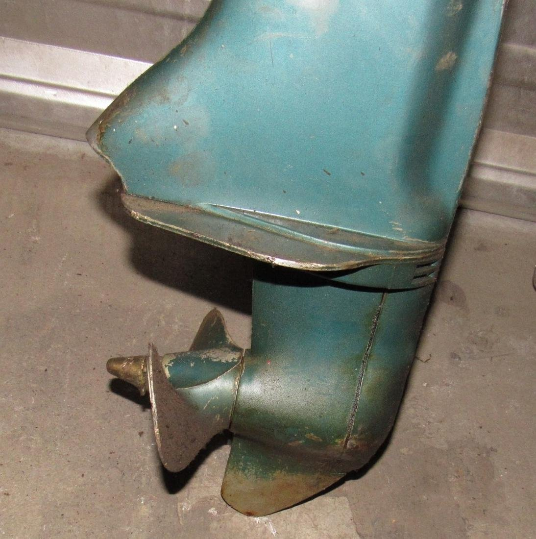 Vintage Scott Atwater 3.6hp Outboard Boat Motor - 4