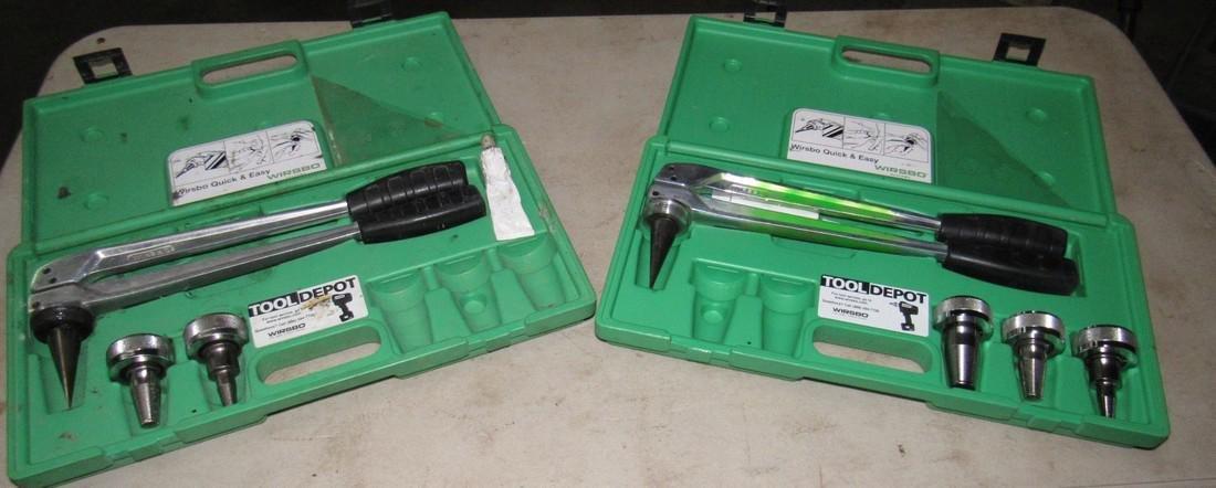 2 Wirsbo Pex Expander Tool Kits