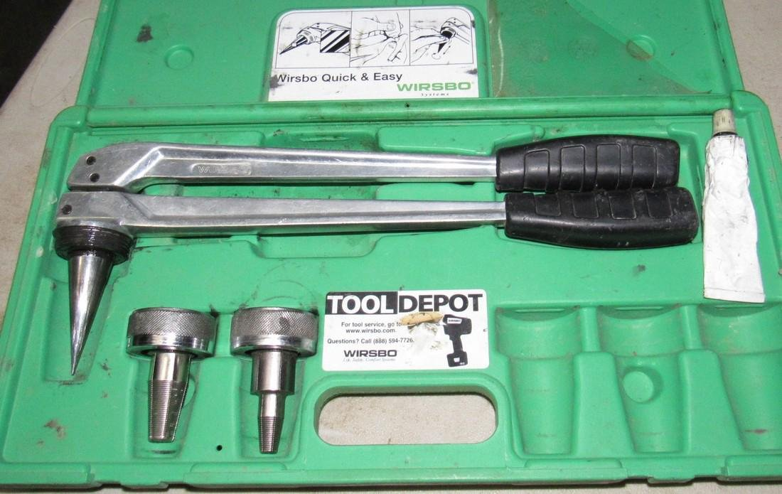 2 Wirsbo Pex Expander Tool Kits - 2