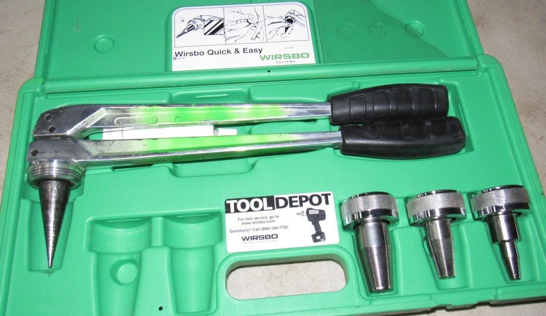 2 Wirsbo Pex Expander Tool Kits - 3