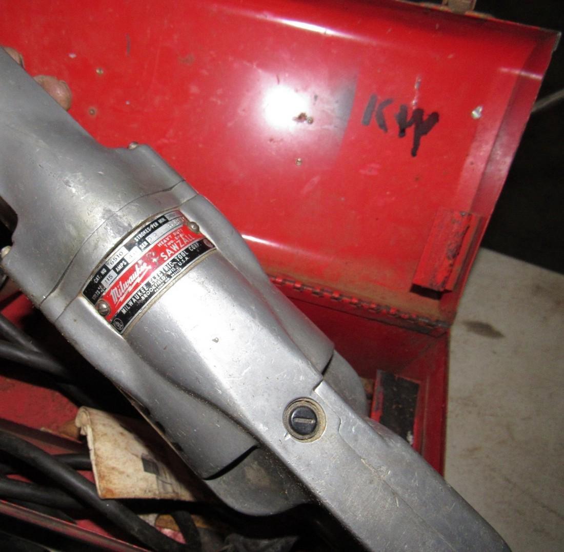 2 Milwaukee Sawzalls Reciprocating Saws - 2