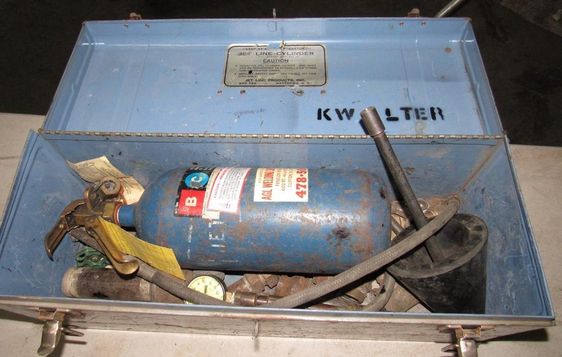 Jet Line Cylinder Tank