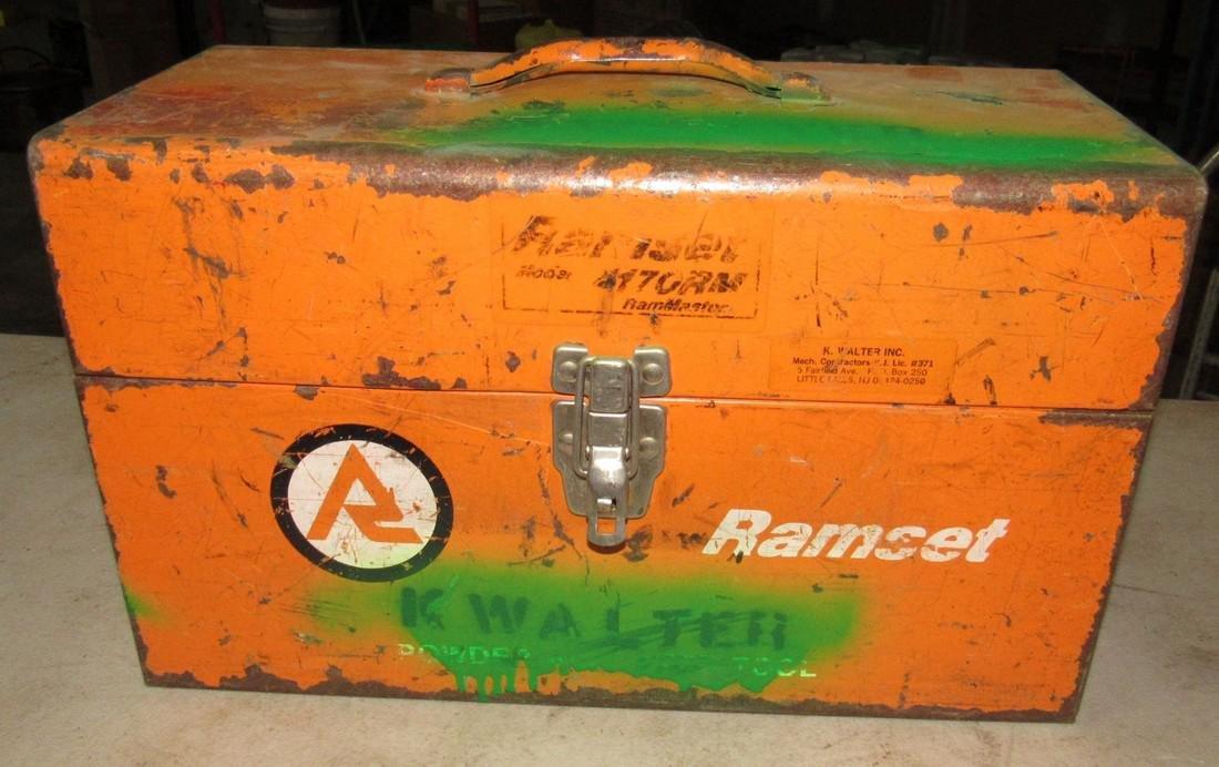 Ramset Nail Gun - 2