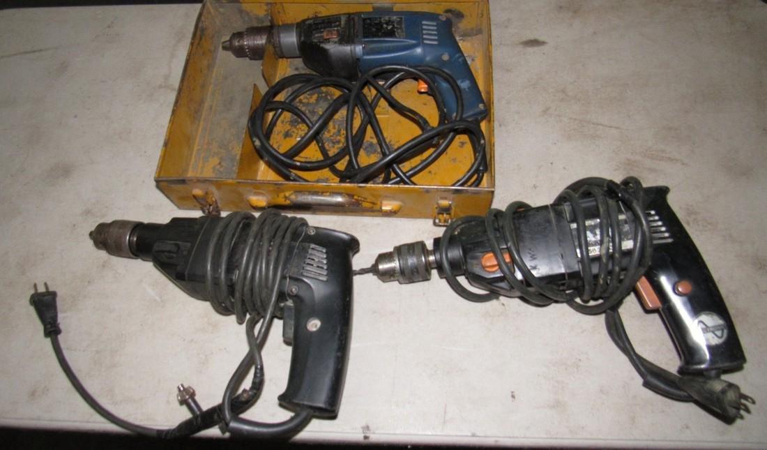 AEG & Chicago Pneumatic Hammer Drills