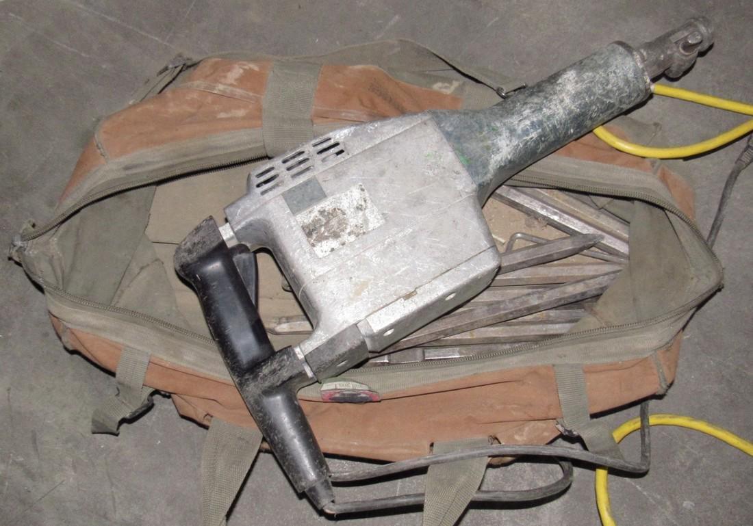 Electric Jack Hammer 11305 & Bits
