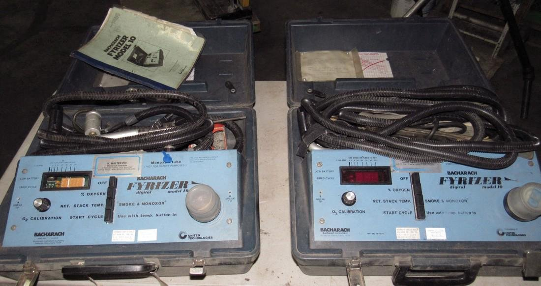 2 Bacharach Fyrizer Model 10 Testers