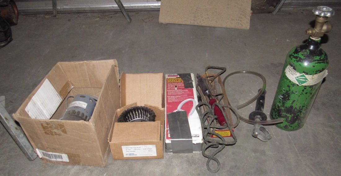 Nitrogen Tank Wire Brush Pump Soldering Irons