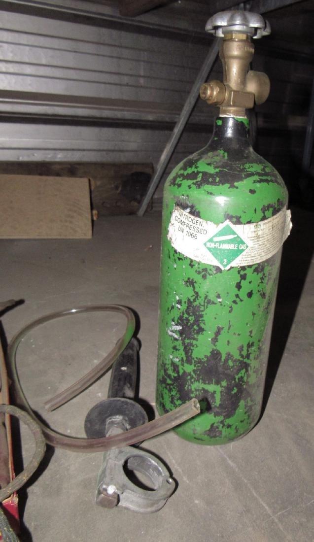 Nitrogen Tank Wire Brush Pump Soldering Irons - 2