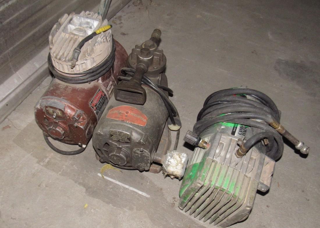 3 Air Compressors - 2