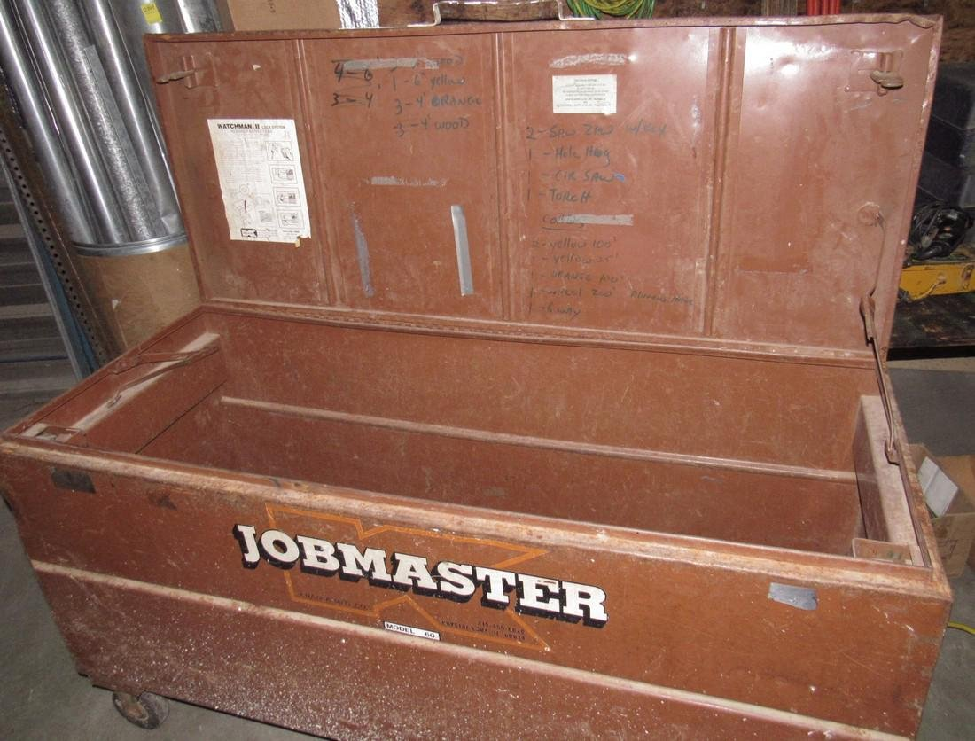 Jobmaster Model 60 Job Tool Box - 2