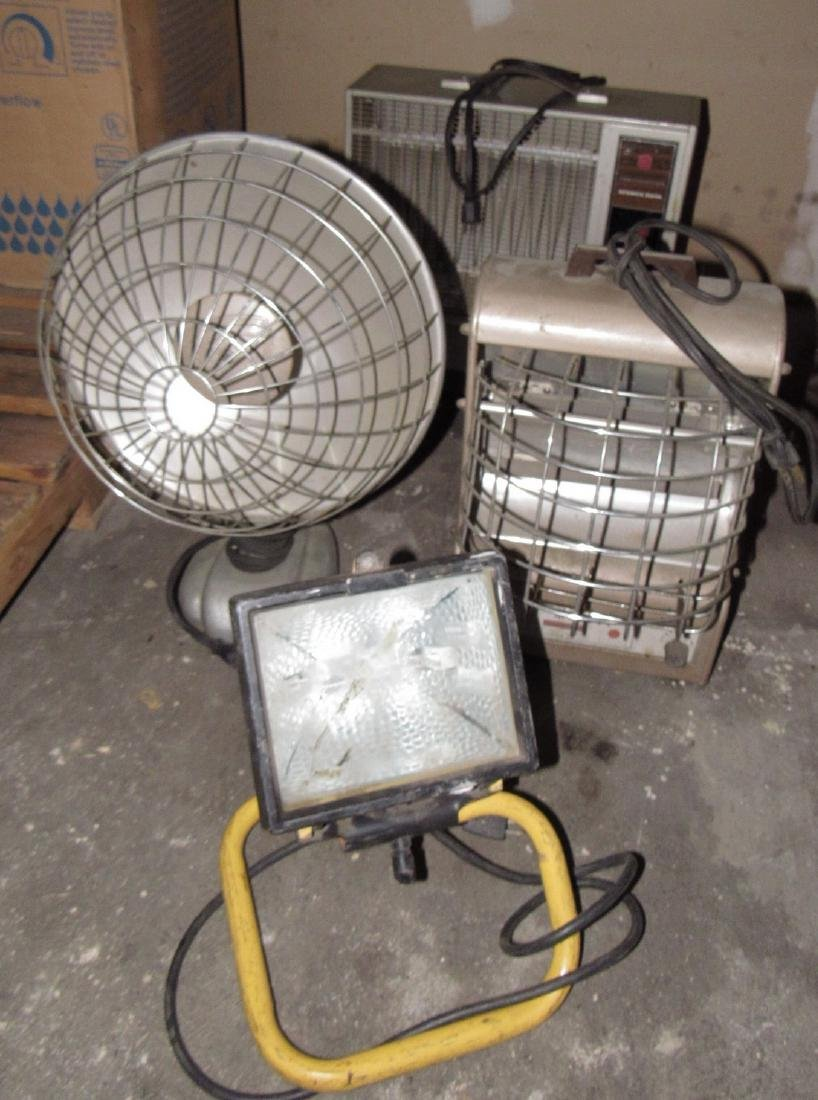 Heaters & Shop Light