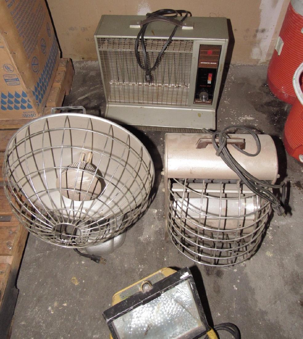 Heaters & Shop Light - 2
