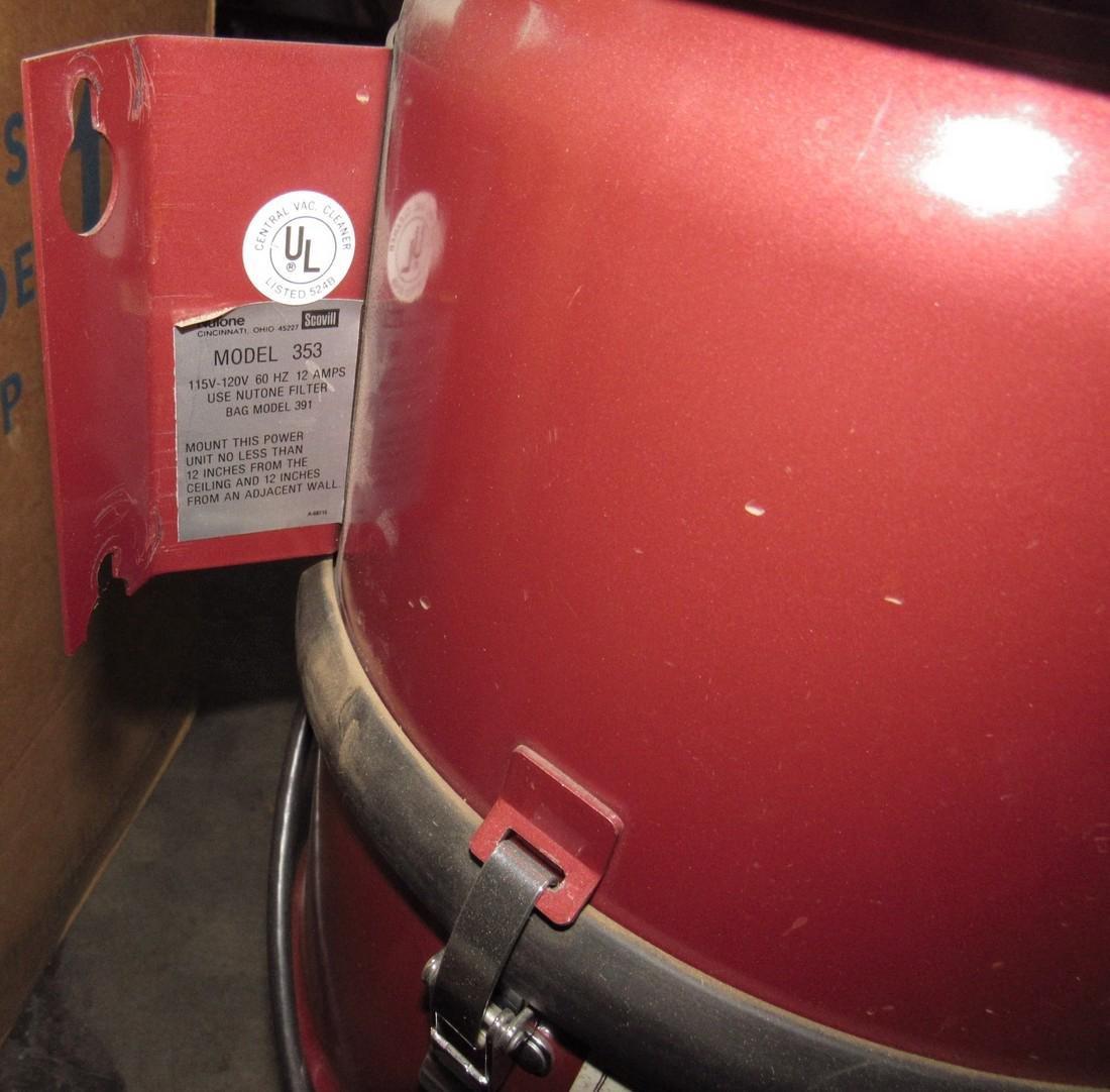 Nutone 353 Vacuum System - 4