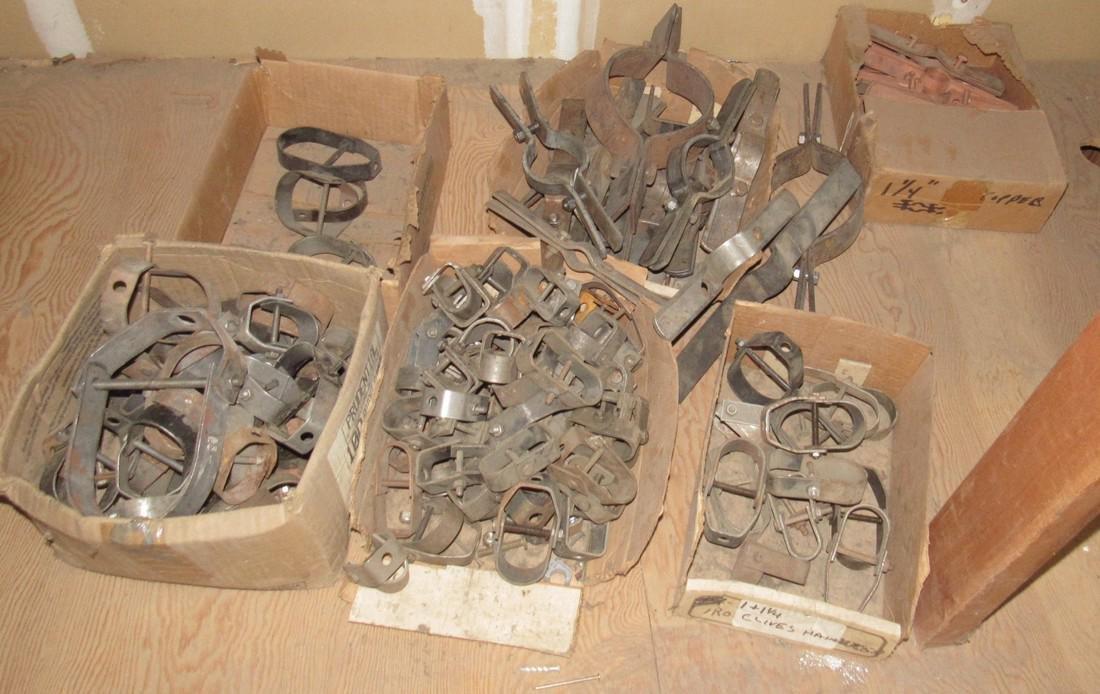 Pipe Hangers Pear Copper Clad Tube Hooks - 9