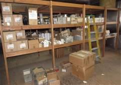 Roof Flashing PVC Fittings Shelf Contents lot