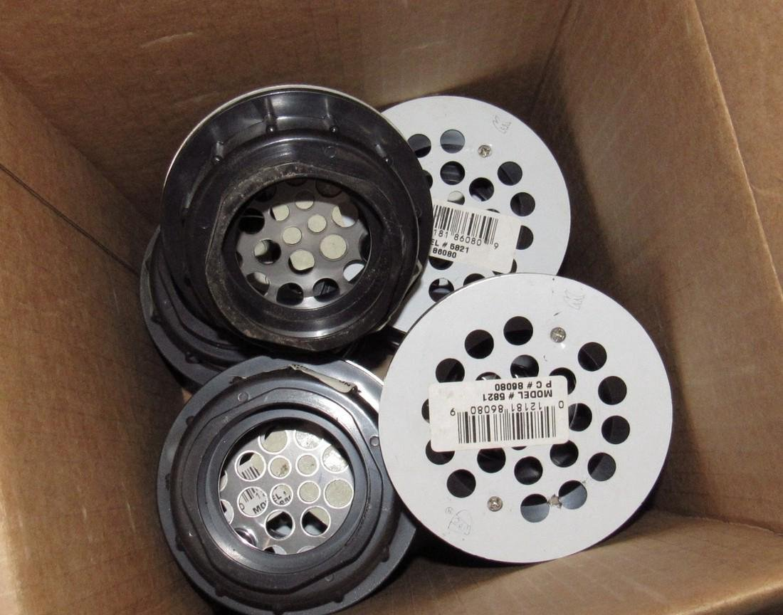 Shower Heads Drains Disposal Flanges & Misc - 5