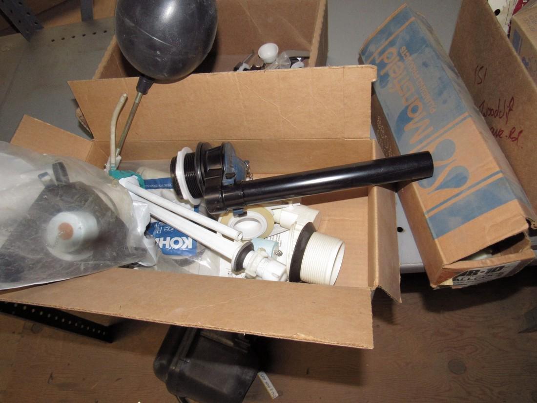 Sloan Pressure Flush Toilet Tanks & Parts Lot - 2