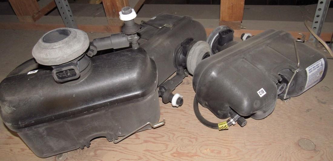 Sloan Pressure Flush Toilet Tanks & Parts Lot - 4