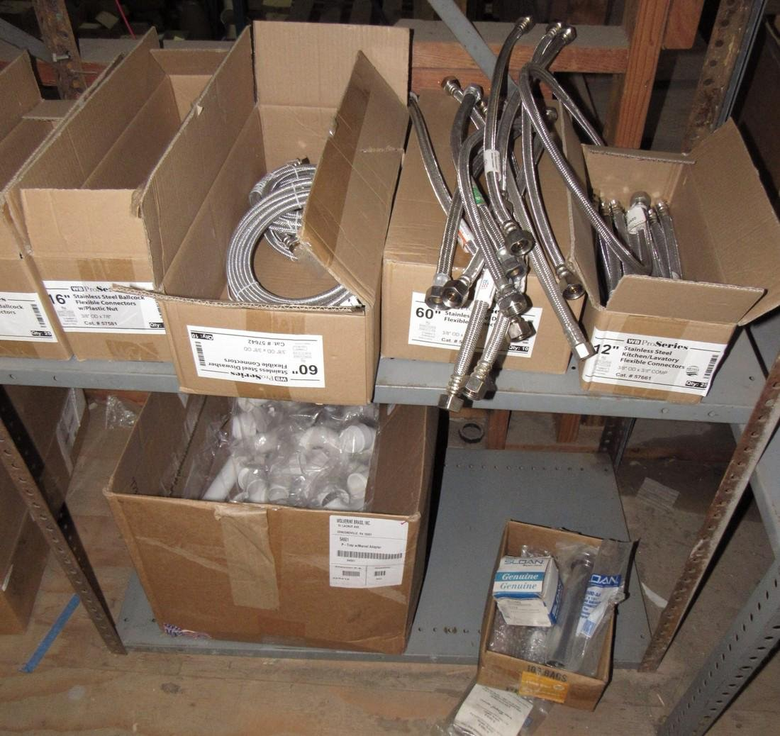 Stainless Steel Flexible Connectors Traps Lot
