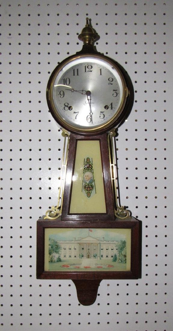 Sessions Wall Clock George Washington