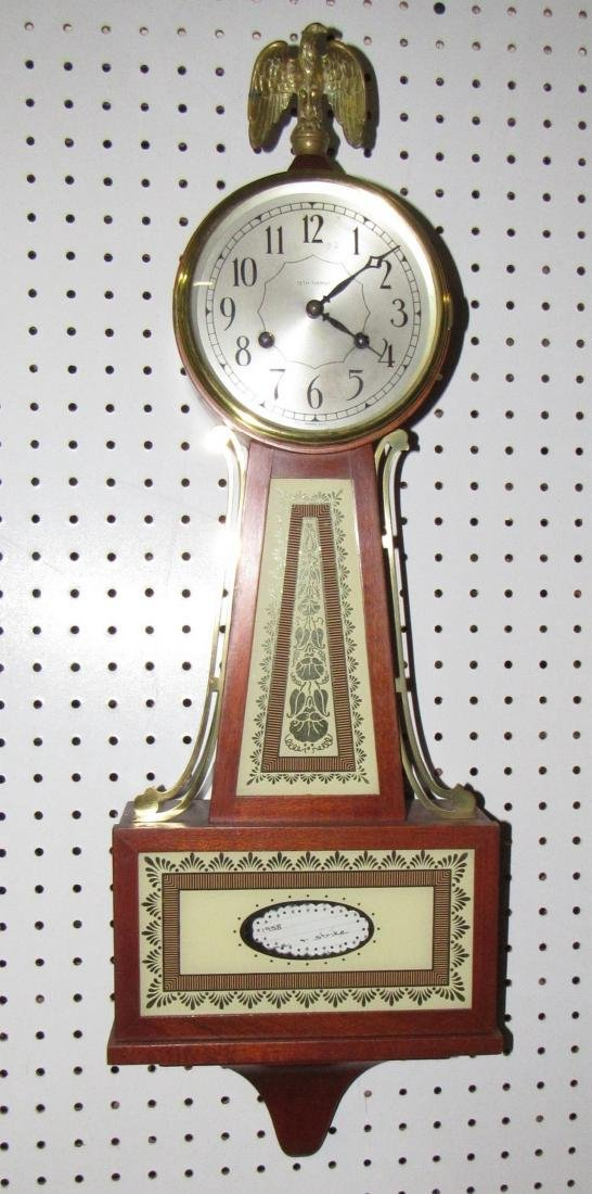 """Seth Thomas Banjo """" Brookfield """" Clock"""