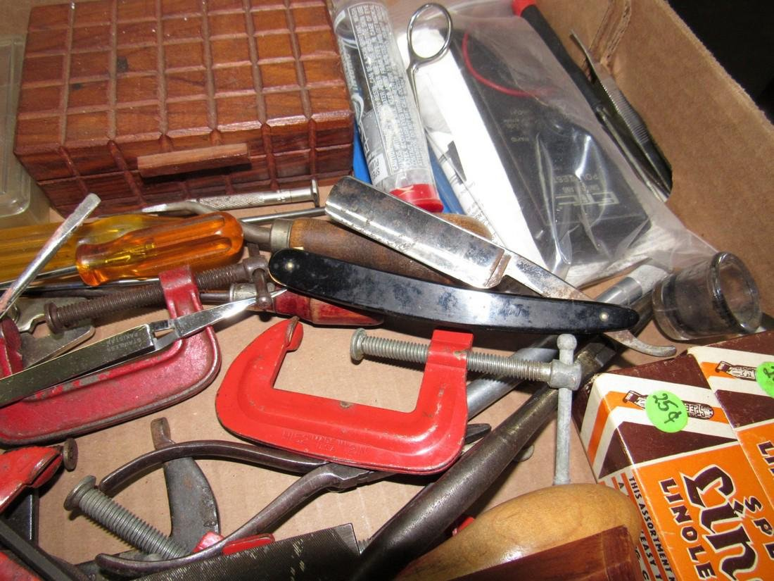Tools Straight Razor Clamp Etic Polytest - 2