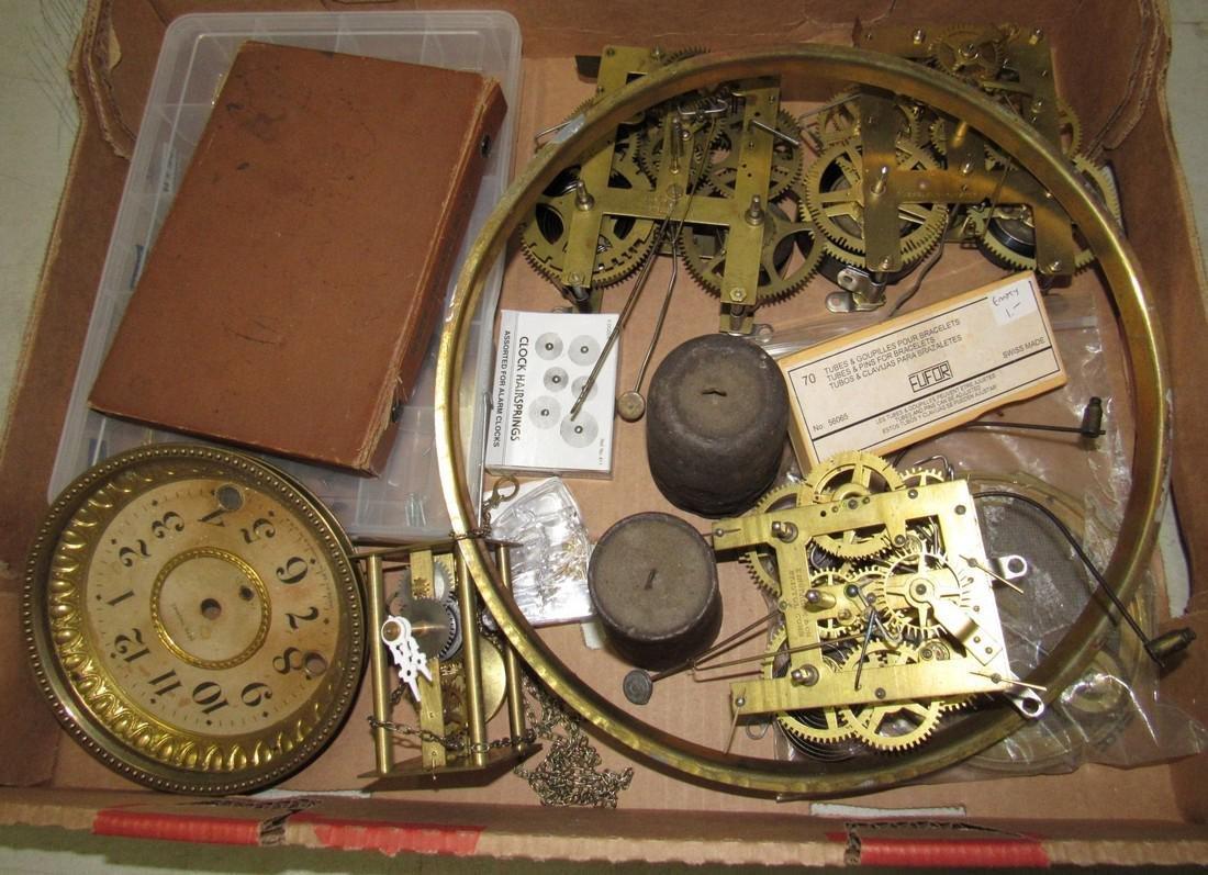 Clock Parts Movements Ingraham Gilbert
