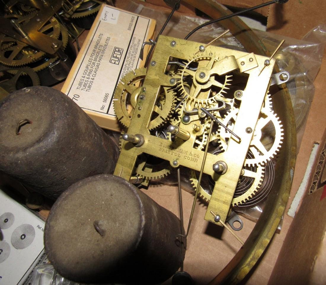 Clock Parts Movements Ingraham Gilbert - 2