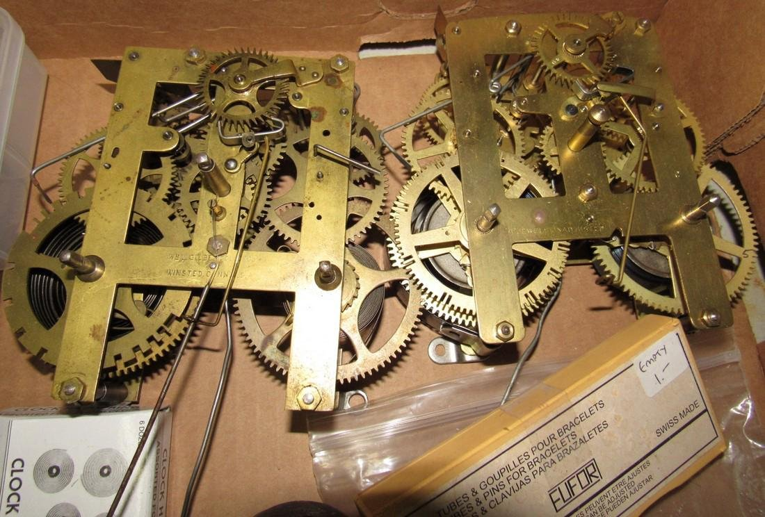Clock Parts Movements Ingraham Gilbert - 3