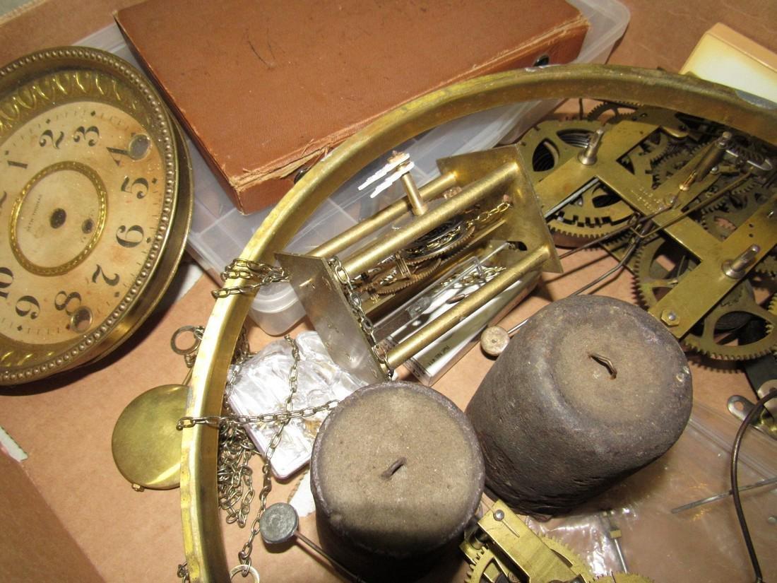 Clock Parts Movements Ingraham Gilbert - 5