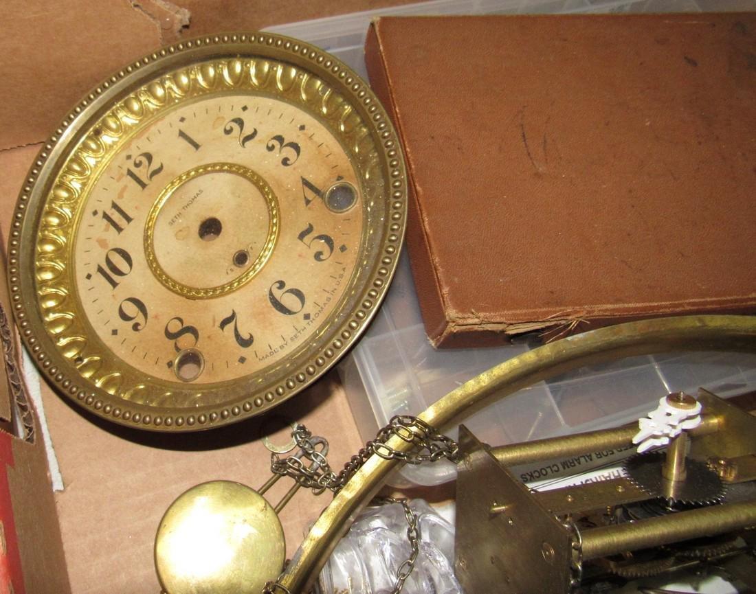 Clock Parts Movements Ingraham Gilbert - 6