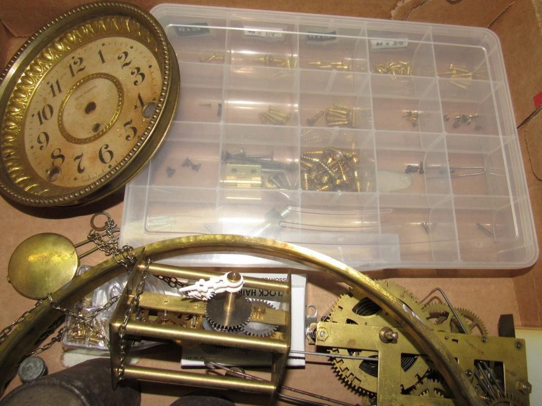 Clock Parts Movements Ingraham Gilbert - 7