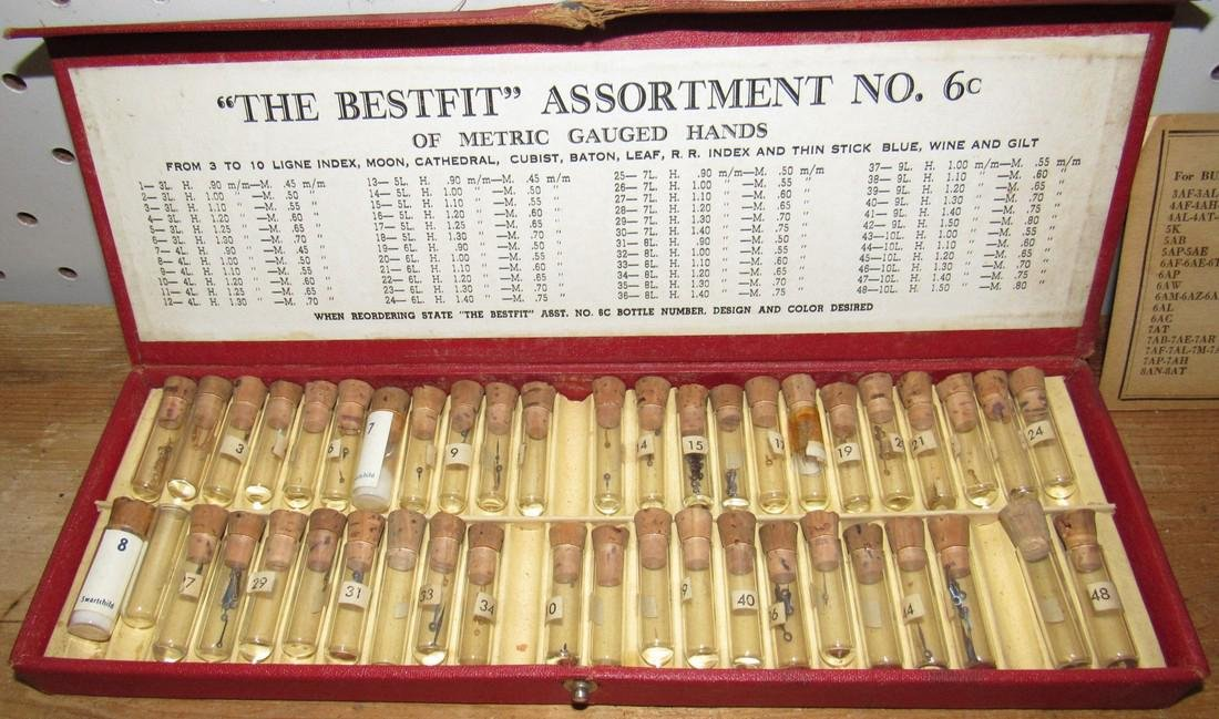 Bestfit Metric Gauged Wrist Watch Hands Parts