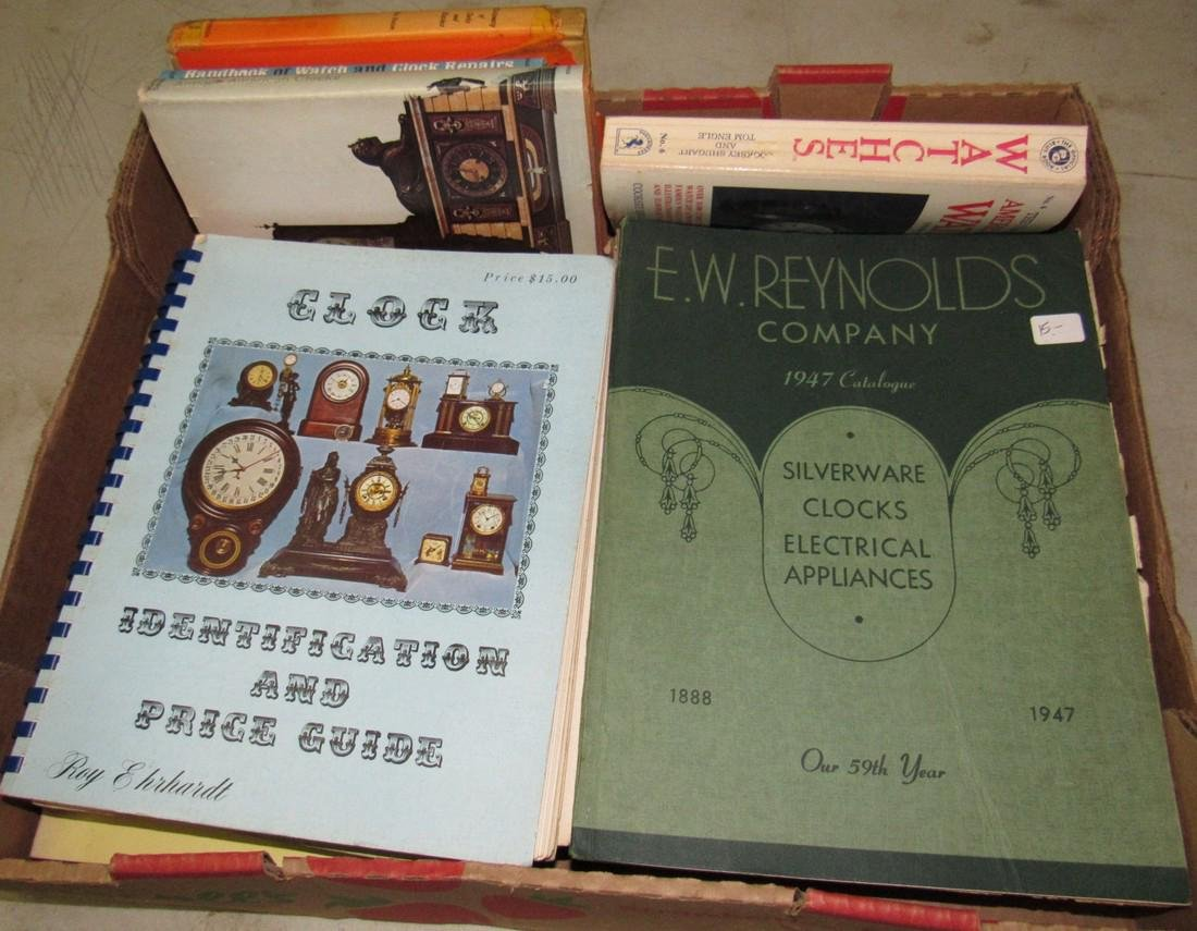 Lot of Watch & Clock Books