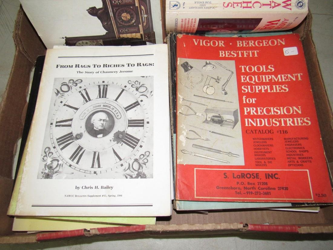 Lot of Watch & Clock Books - 2