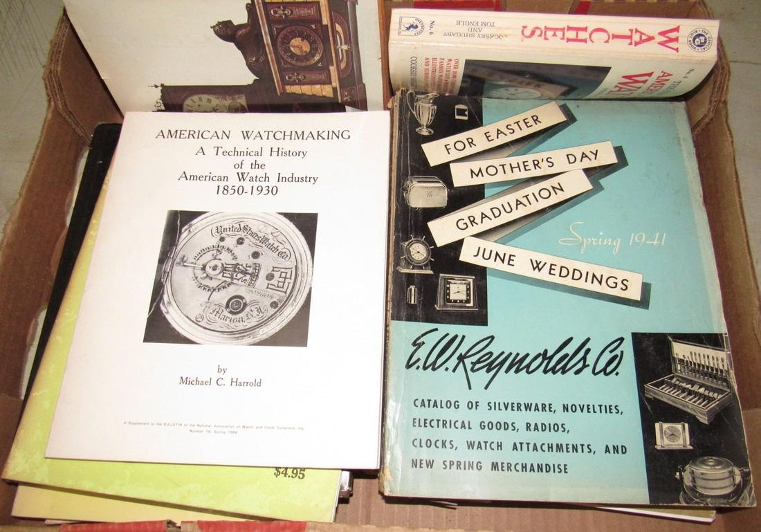 Lot of Watch & Clock Books - 3